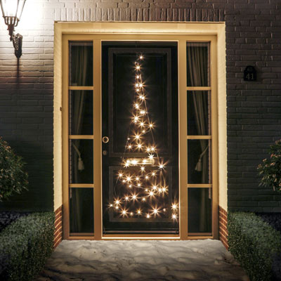 Christmas Lights Fairybell Door | Flagpole Accessories