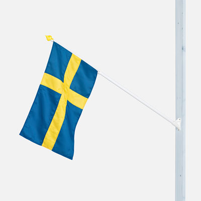 Outrigger Flagpole Sweden | Flags and Pennants