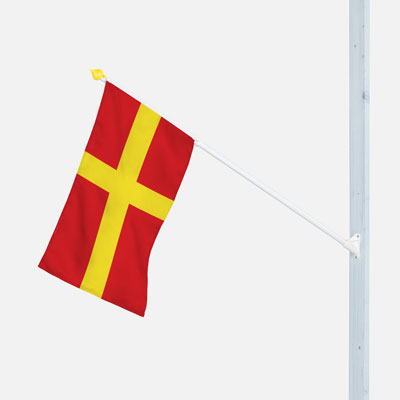 Outrigger Flagpole Scania | Flags and Pennants