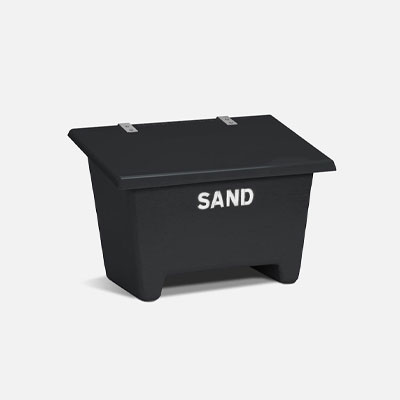 Sand Container 250L Anthracite Grey | Sand Containers
