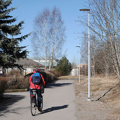 Walk / Bike Path, Växjö, Sweden