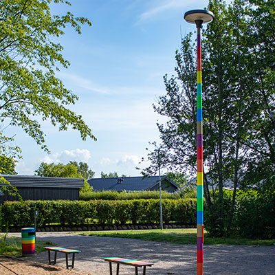Playground Rainbow, Angelholm, Sweden