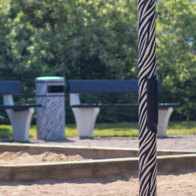 Playground Zebra, Angelholm, Sweden